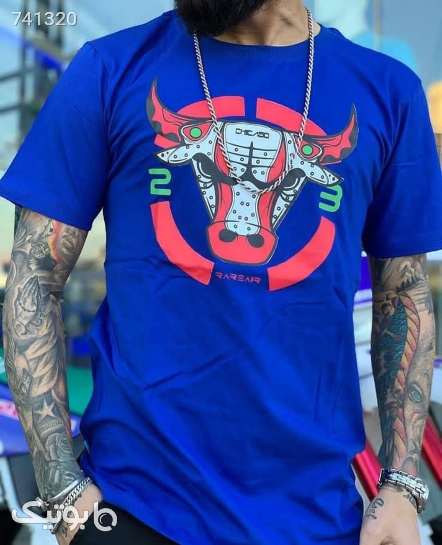 تیشرت بوفالو آبی تی شرت و پولو شرت مردانه