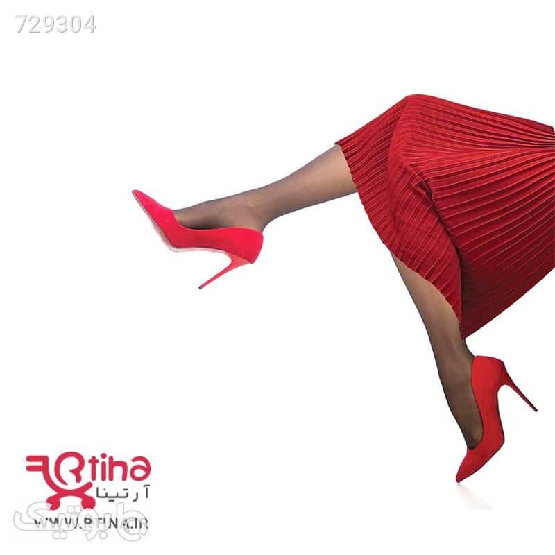 جوراب شلواری شیشه ای زنانه ضخامت 15D برند Misslee مشکی جوراب و پاپوش