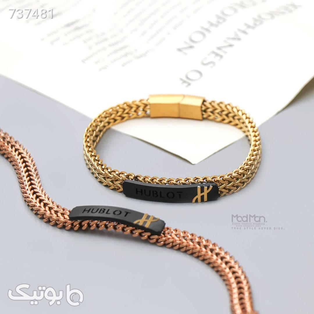 دستبند استیل  طلایی دستبند و پابند
