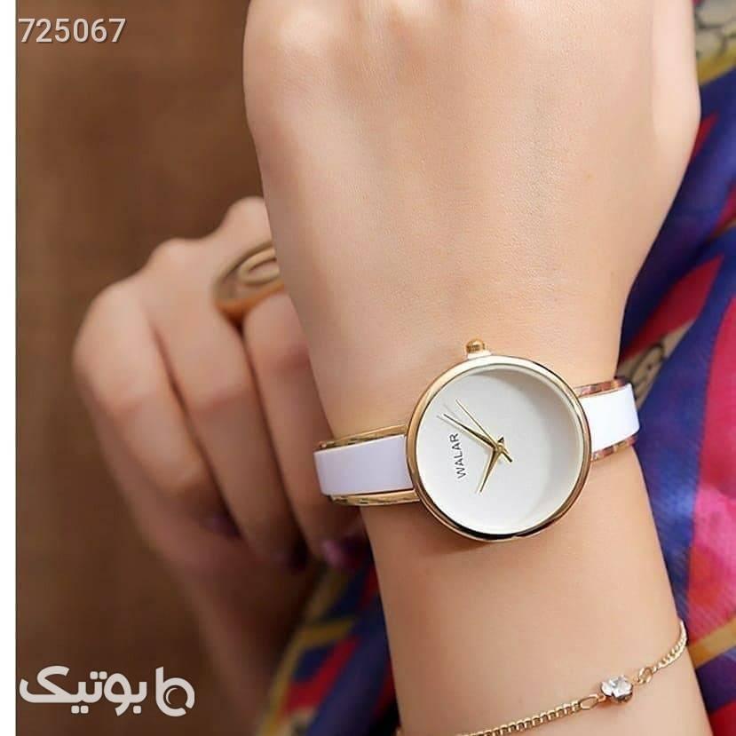 ساعت والار زنانه سفید ساعت