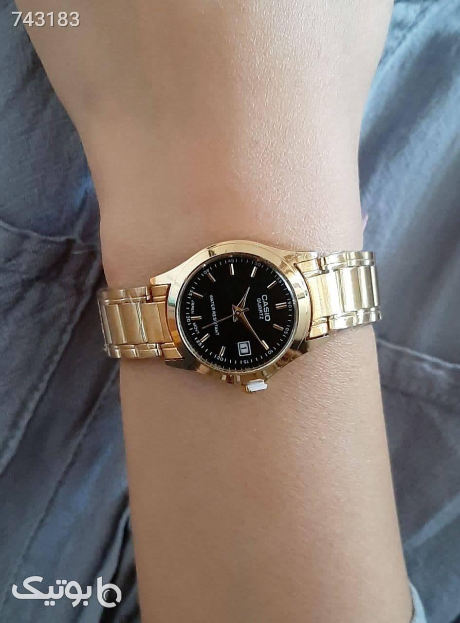 ساعت کاسیو زرد ساعت