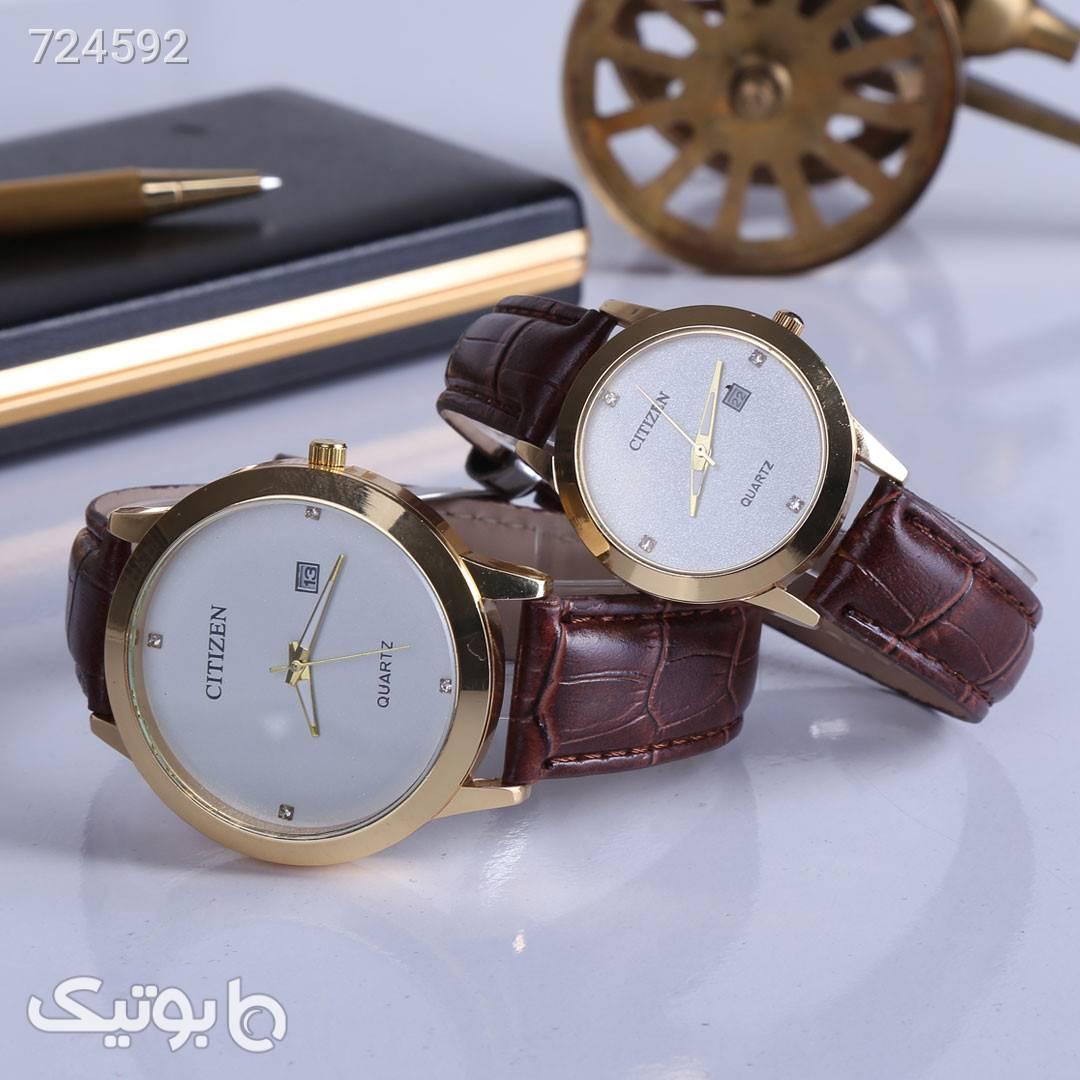 ست ساعت مچی CITIZEN سفید ساعت