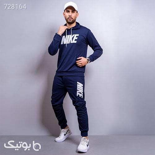 ست سوئيشرت شلوار مردانه Nike مدل Damenik سورمه ای ست ورزشی مردانه