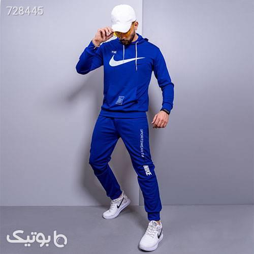 ست سوئيشرت شلوار Nike مردانه مدل Owen آبی ست ورزشی مردانه