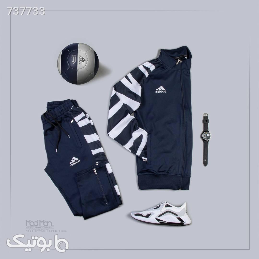 ست سویشرت و شلوار مردانه  آبی ست ورزشی مردانه