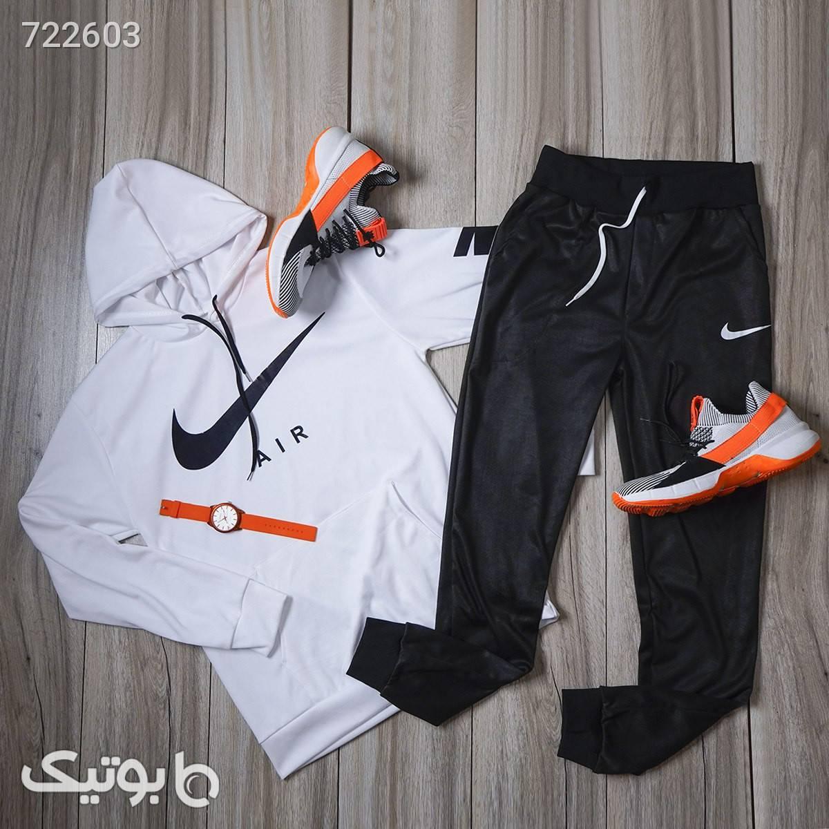 ست سوئيشرت شلوار Nike مردانه مدل Wilson مشکی سوئیشرت و هودی مردانه