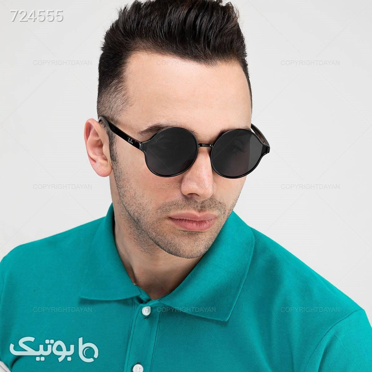 عینک آفتابی Ray Ban مدل 18419   مشکی عینک آفتابی