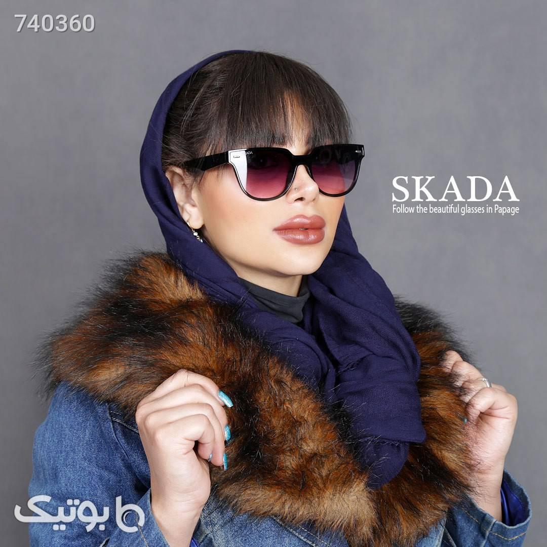 عینک زنانه SKADA مدل 1911 سورمه ای عینک آفتابی