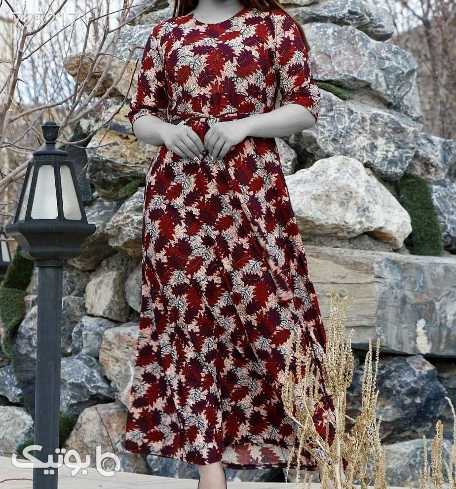 ساحلی سنوبر زرشکی لباس راحتی زنانه