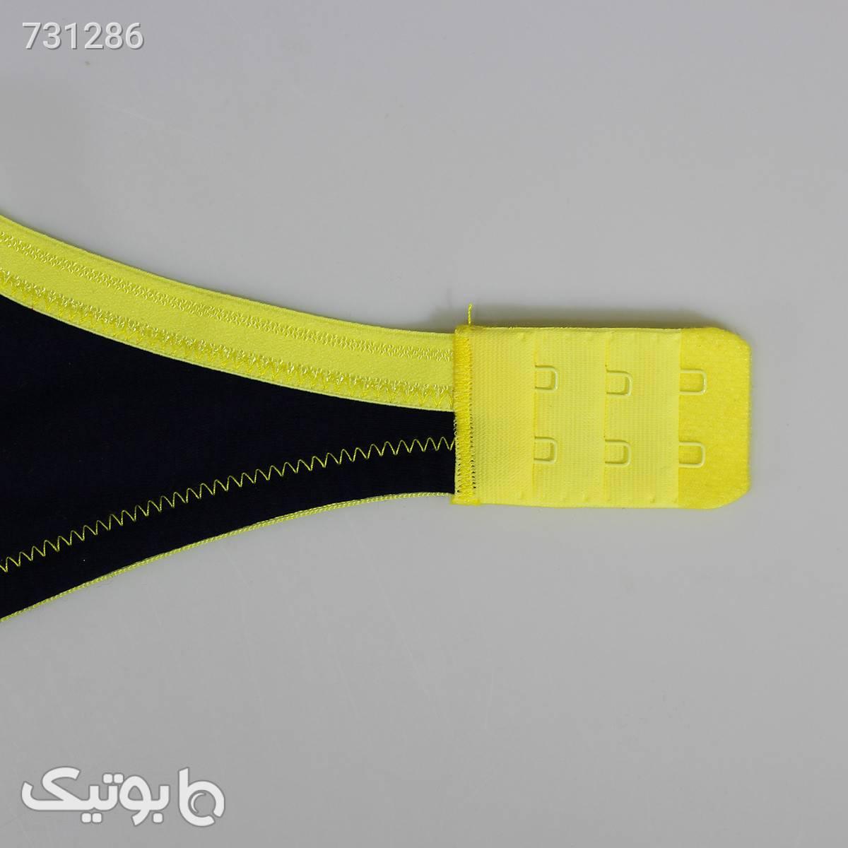 ست نخی راحتی زرد سرمه ای برند Torpheh مدل ۵۰۳ کدs3045 مشکی لباس زیر زنانه
