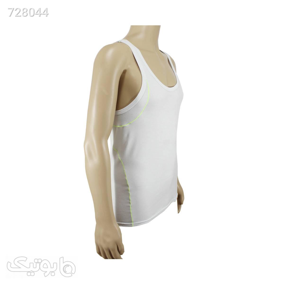 زیرپوش مردانه مودال سفید پشت قهرمانی Calvin klein کدu1086 سفید لباس زیر مردانه