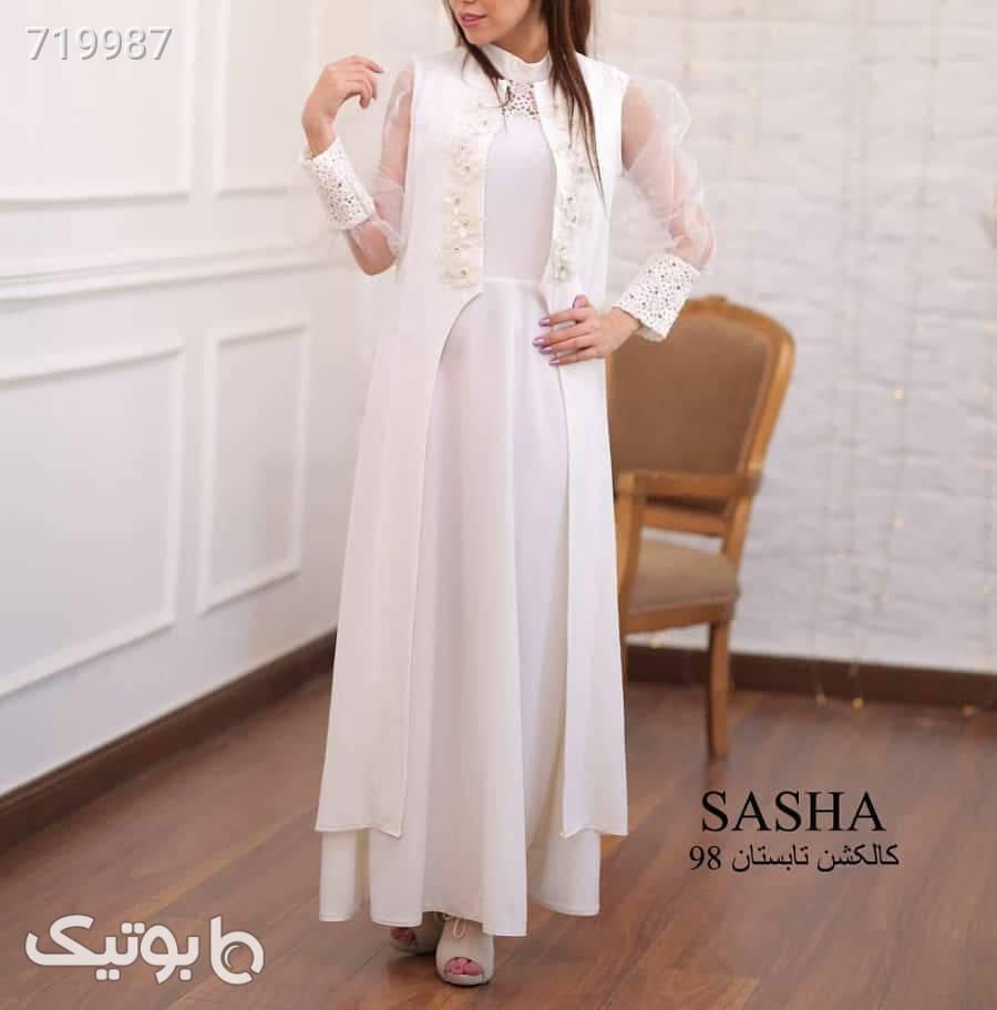 طرح رخشانه  سفید لباس عروس