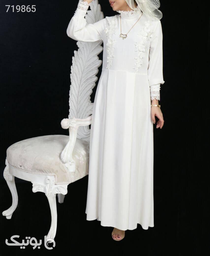 مانتو عروس سفید لباس عروس