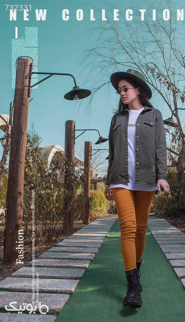 ست ۴تیکه خواهر برادری در شش رنگ زیبا  زرد لباس کودک دخترانه