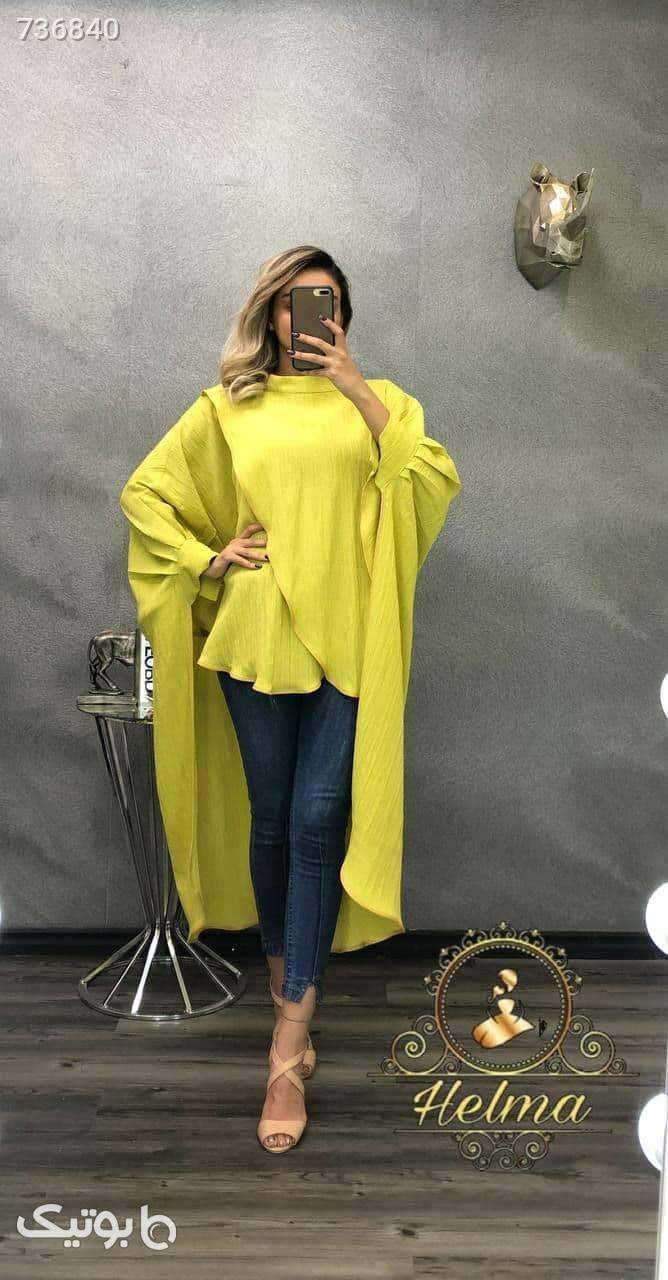 شنل زرد پانچو و شنل
