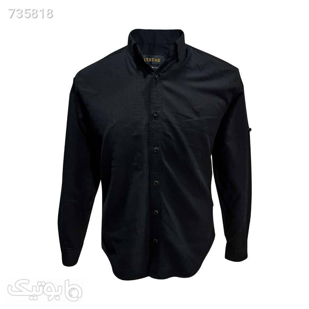 پیراهن جودون پولو مشکی 12408627 مشکی پيراهن مردانه