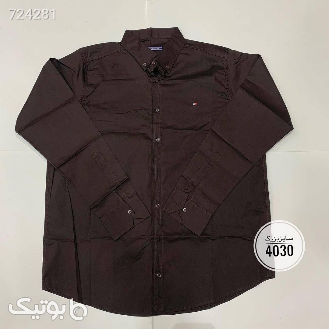 پیراهن سایز بزرگ کد 428  سبز سایز بزرگ مردانه