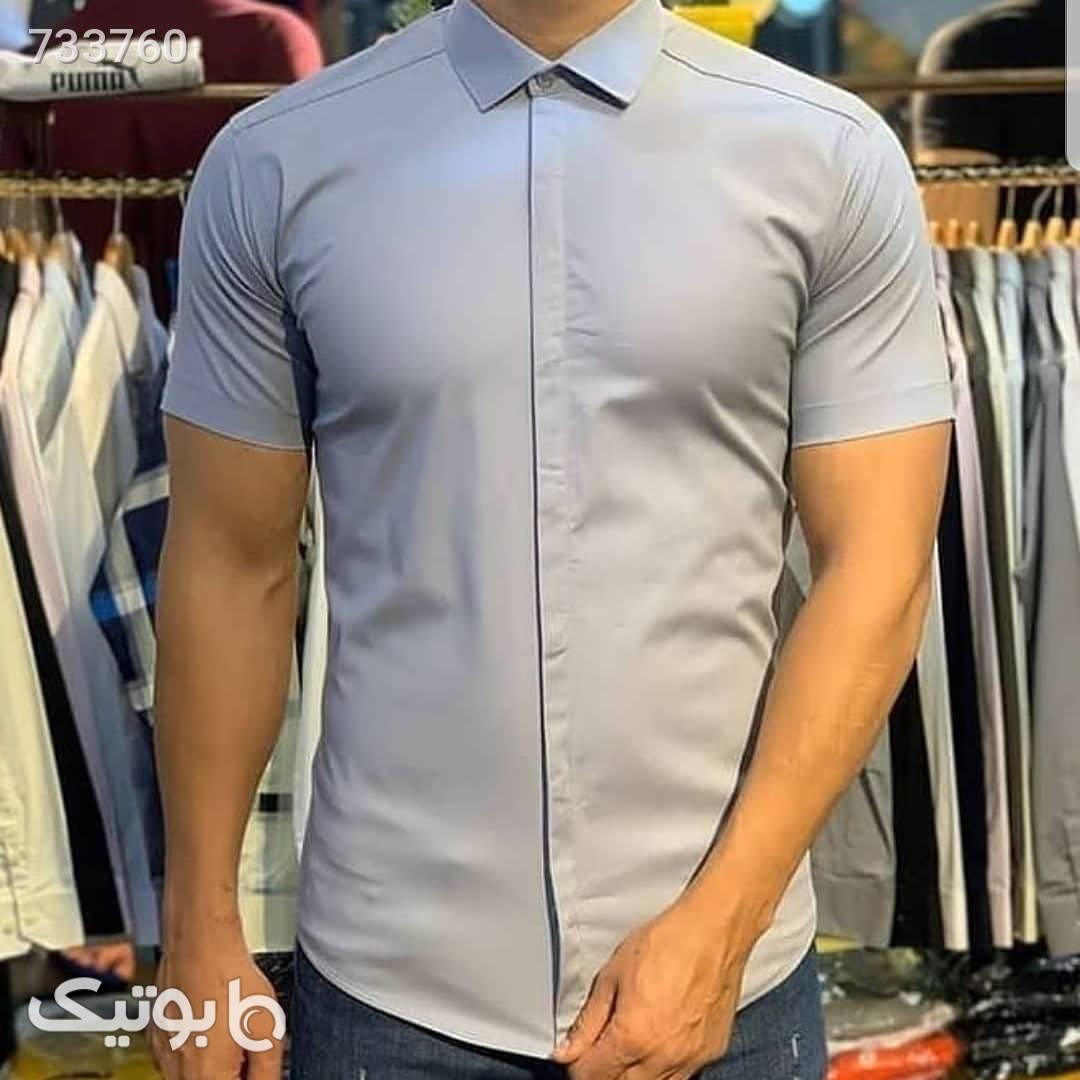 پیراهن مردانه  نقره ای پيراهن مردانه