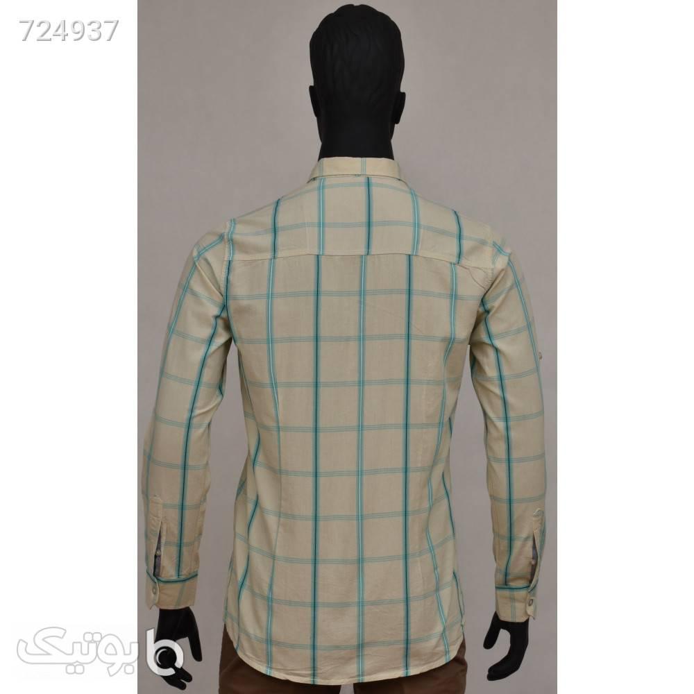 پیراهن مردانه 1093 کرم پيراهن مردانه