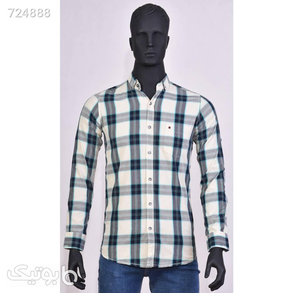 پیراهن مردانه 1103 آبی پيراهن مردانه