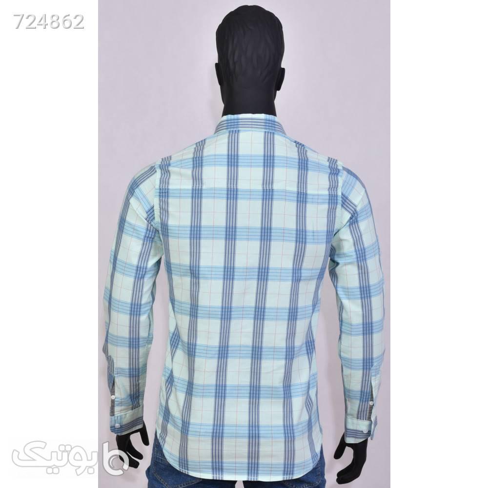 پیراهن مردانه 1105 آبی پيراهن مردانه