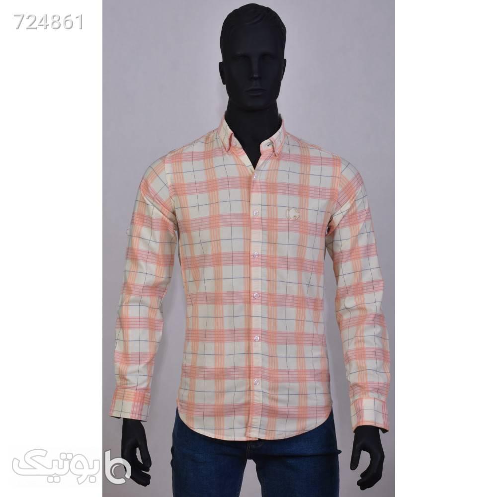 پیراهن مردانه 1106 صورتی پيراهن مردانه