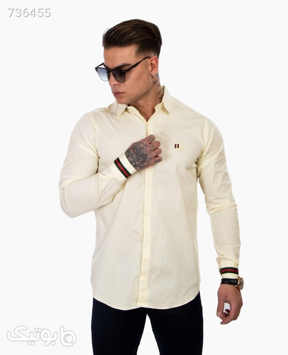پیراهن مردانه Gucci کد 3315LemonXXL سفید پيراهن مردانه