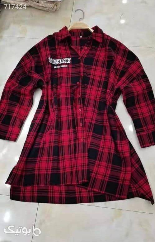 پیراهن ۴ خونه کد: ۱۰۹۵ قرمز پيراهن و سارافون زنانه