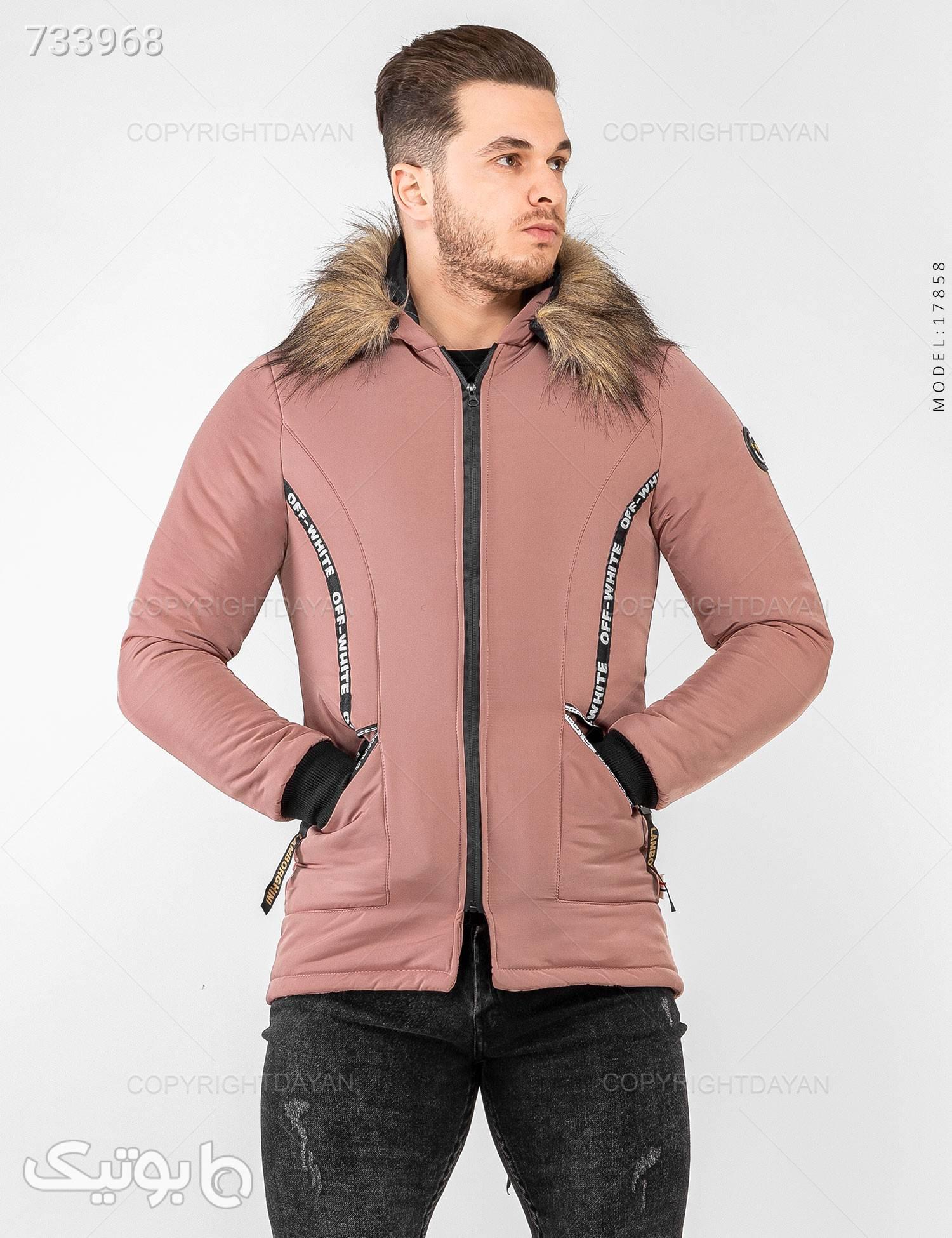کاپشن Fashion مدل 17858 کرم کاپشن و بارانی مردانه