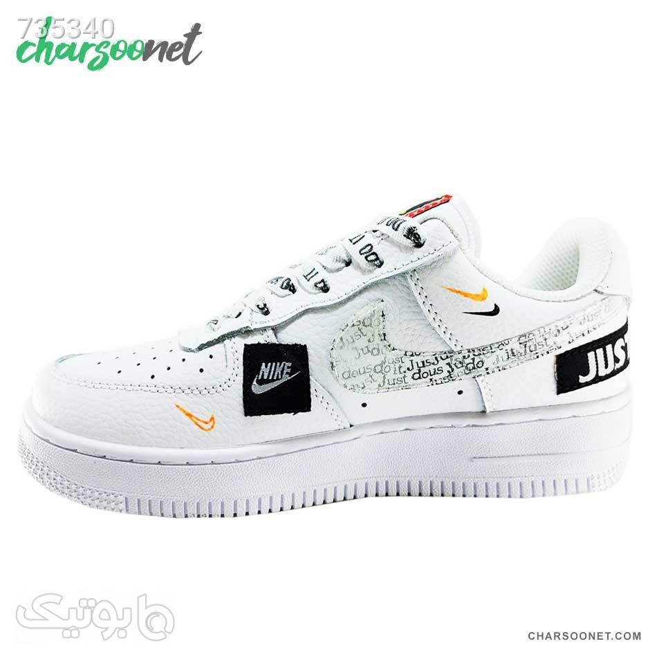 اسنیکر اسپرت نایک زنانه Nike Airforce سفید كتانی زنانه