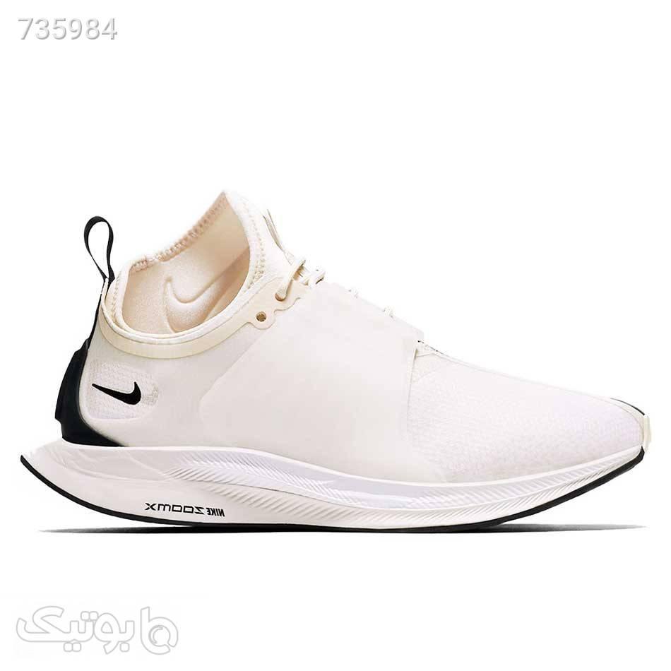 کتانی ورزشی نایکی زنانه Nike Zoom Turbo سفید كتانی زنانه