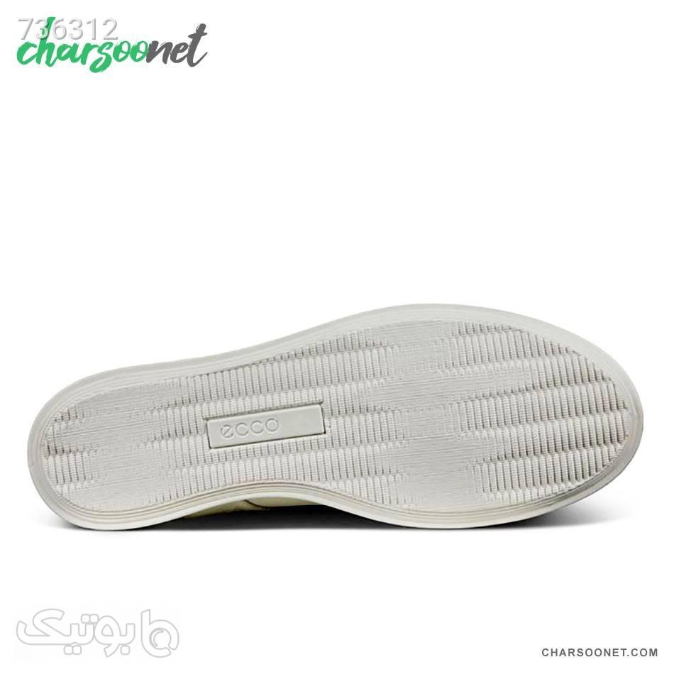 کفش اسپرت اکو زنانه Ecco Leisure سفید كتانی زنانه