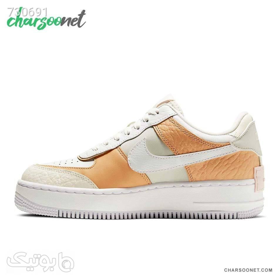 کفش اسپرت زنانه نایک Nike Air Force1Shadow سفید كتانی زنانه