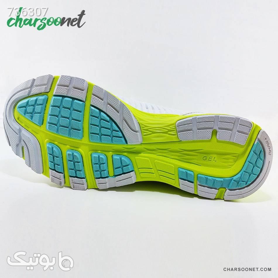 کفش رانینگ اسیکس مدل Dynaflyte 2 سفید كتانی زنانه