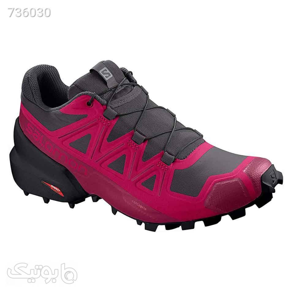کفش رانینگ زنانه سالومون SA406850 Salomon Speedcross 5 زرشکی كتانی زنانه