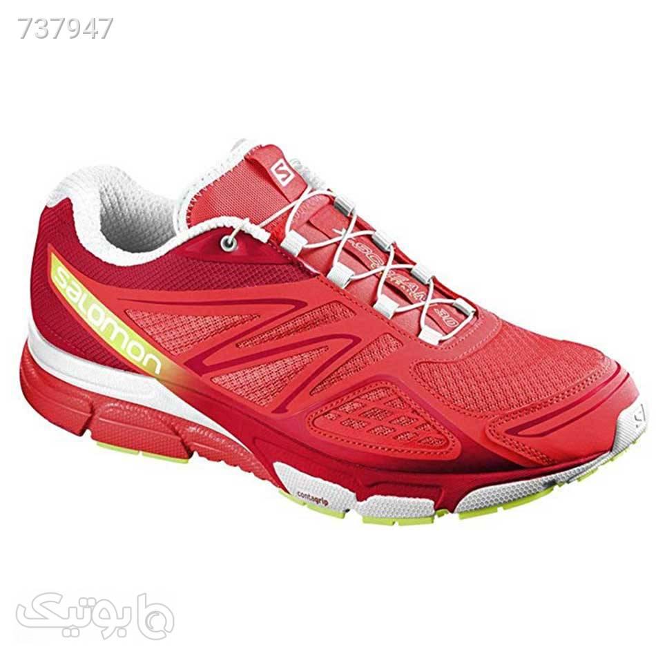 کفش رانینگ زنانه Salomon Xscream 3D قرمز كتانی زنانه