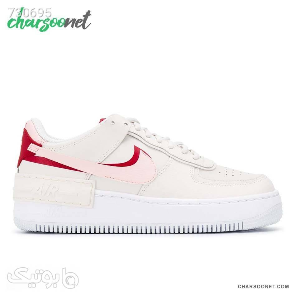 کفش روزمره نایک زنانه Nike Air Force1 Shadow سفید كتانی زنانه