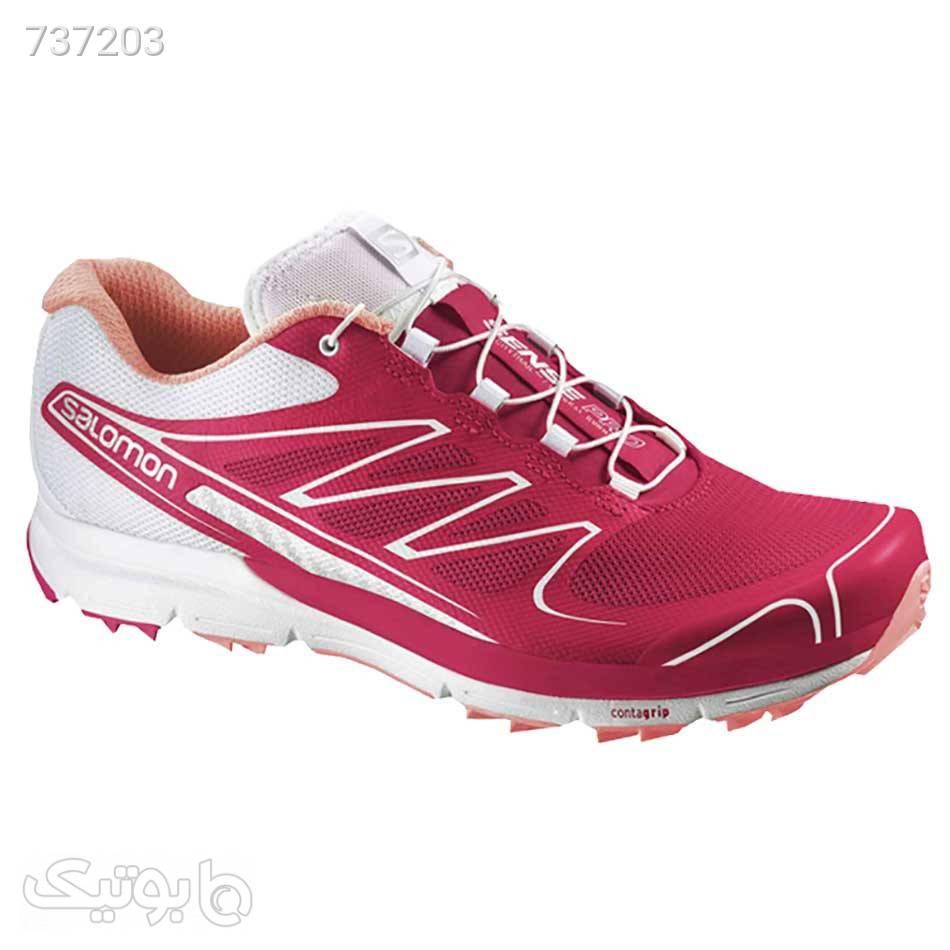 کفش ورزشی زنانه سالامون Salomon Sense Pro زرشکی كتانی زنانه
