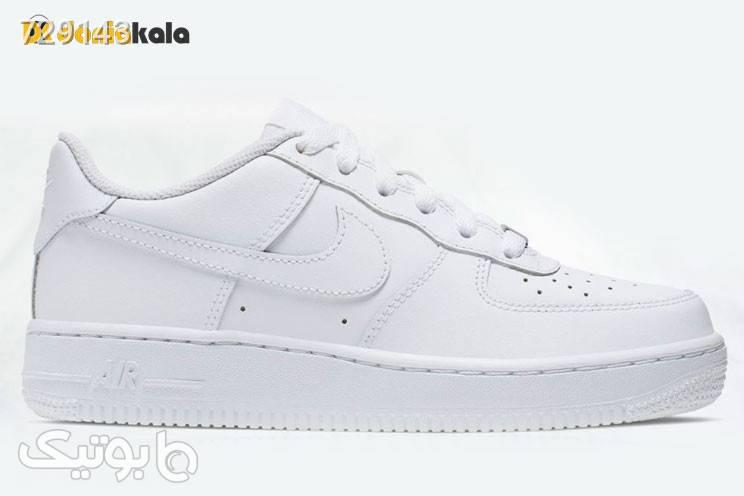 کفش اورجینال پیاده روی مردانه نایک آیر فورس1 Nike Air Force 1 314192117 سفید كتانی مردانه