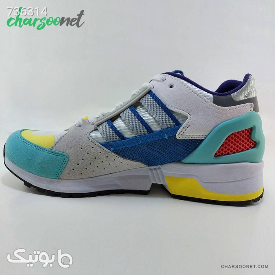 کفش ورزشی آدیداس مدل Adidas Consortium Zx 10000C طوسی كتانی مردانه