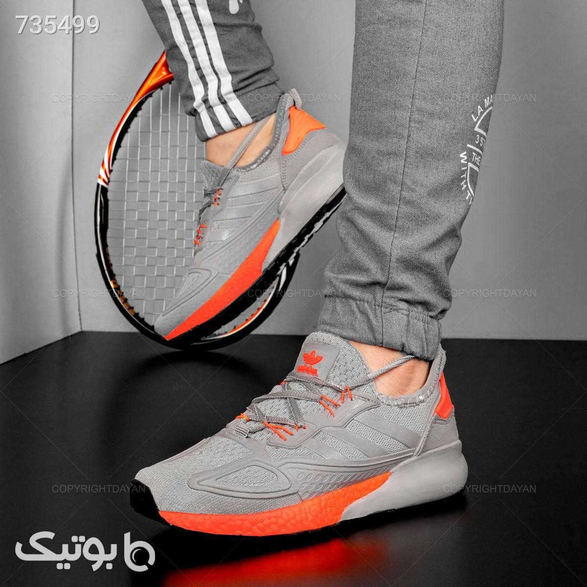 کفش آدیداس، راحت  و با دوام نقره ای كفش مردانه