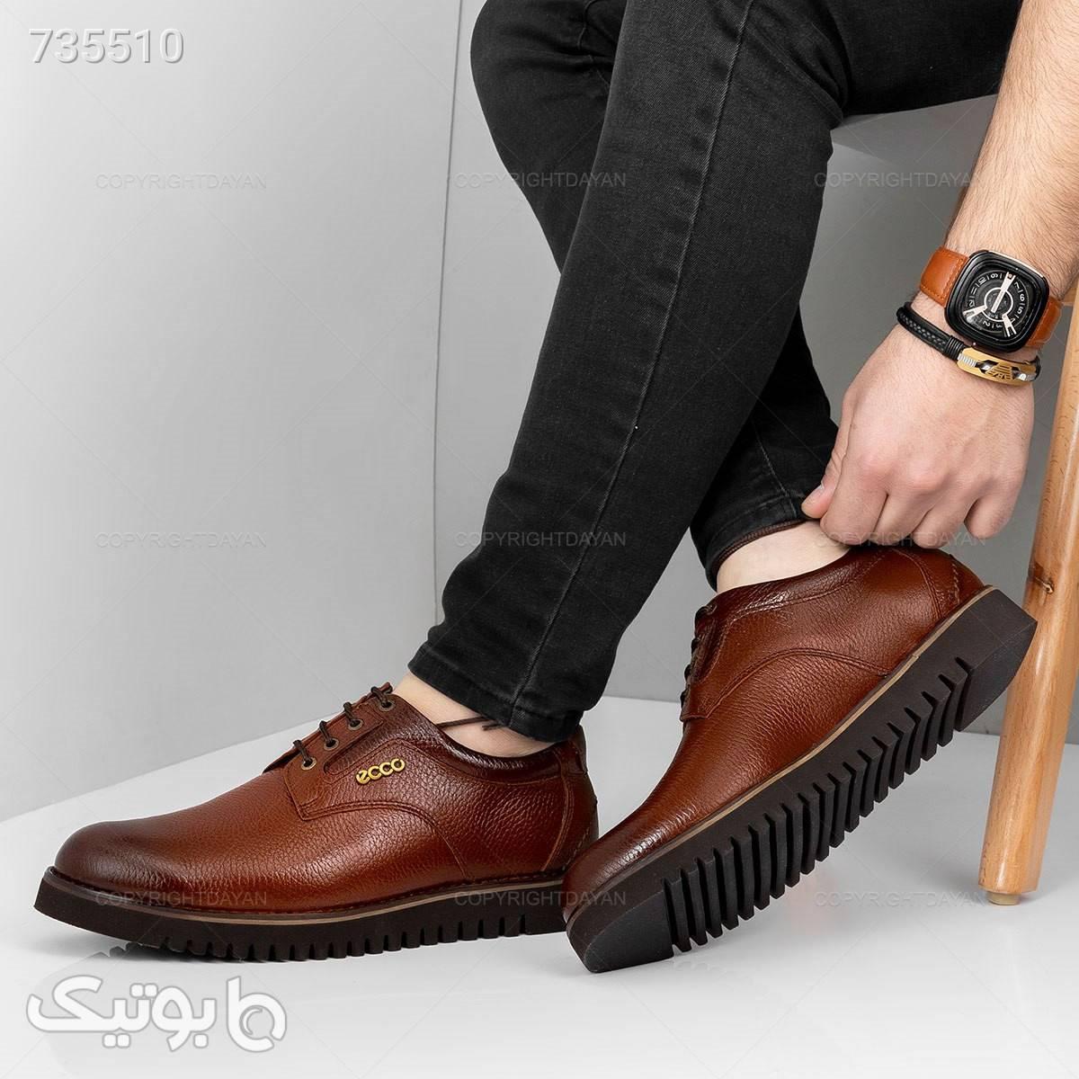 کفش مردانه اکو، انتخابی نرم و راحت زرشکی كفش مردانه