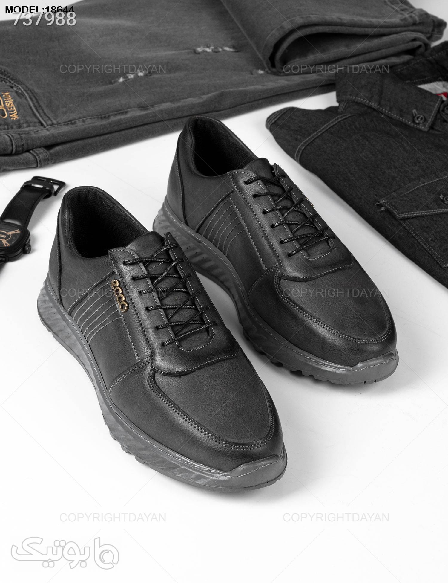 کفش مردانه Ecco مدل 18644 مشکی كفش مردانه