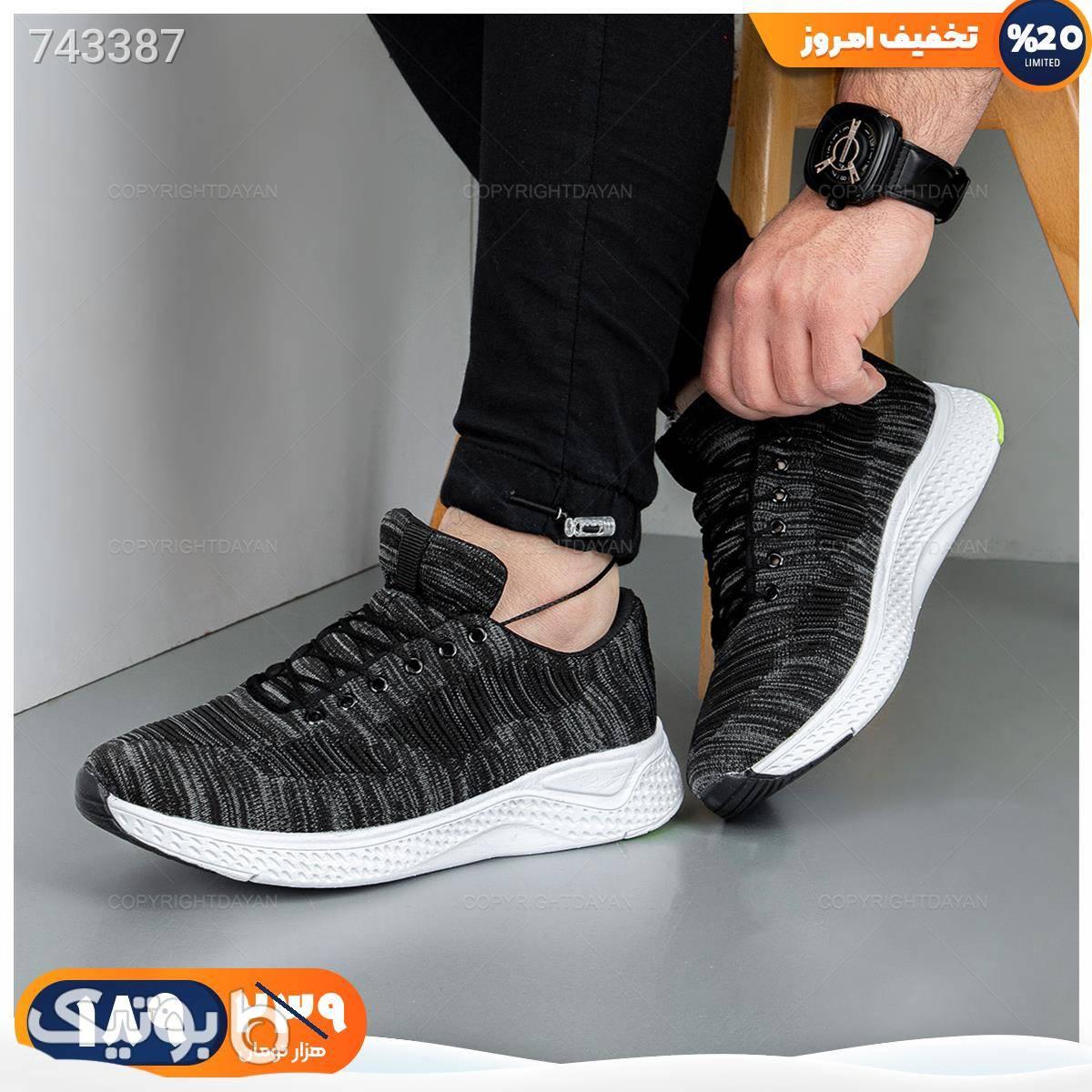 کفش مردانه Imaz مدل 18953 مشکی كفش مردانه