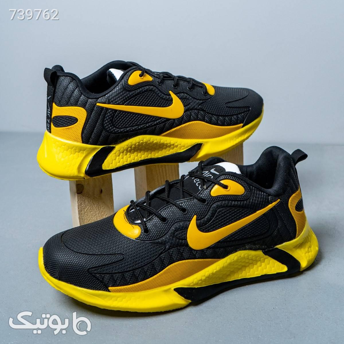 كفش مردانه NIKE مدل VISHO رنگ مشكي زرد زرد كفش مردانه