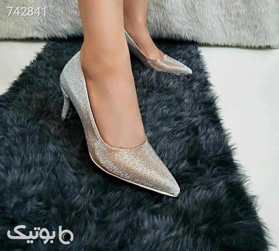 مدل کریشنا  طوسی كفش پاشنه بلند زنانه