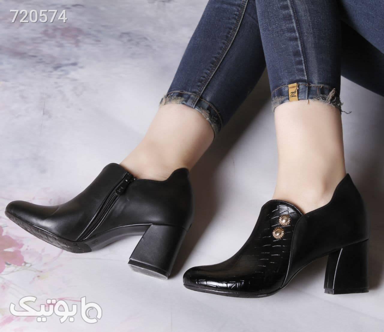 کفش زنانه جدید مشکی كفش پاشنه بلند زنانه