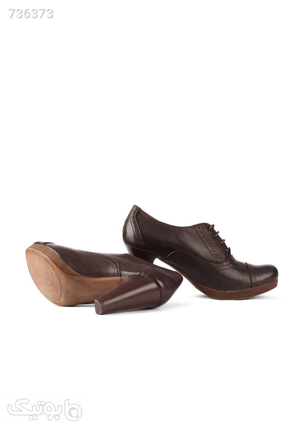 کفش زنانه مدل ۲۴۰ قهوه ای كفش پاشنه بلند زنانه