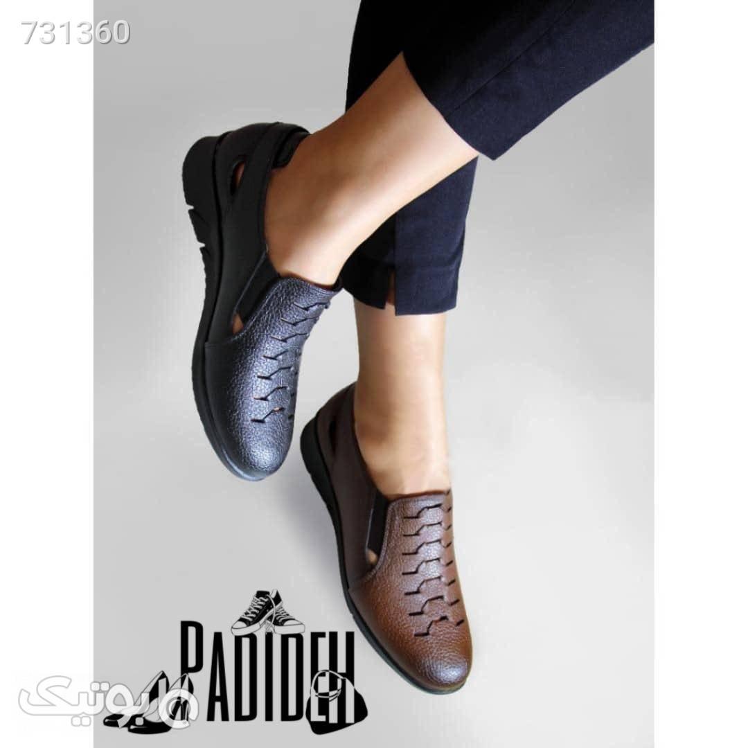 کفش طبی پرسنلی مشکی كفش پاشنه بلند زنانه