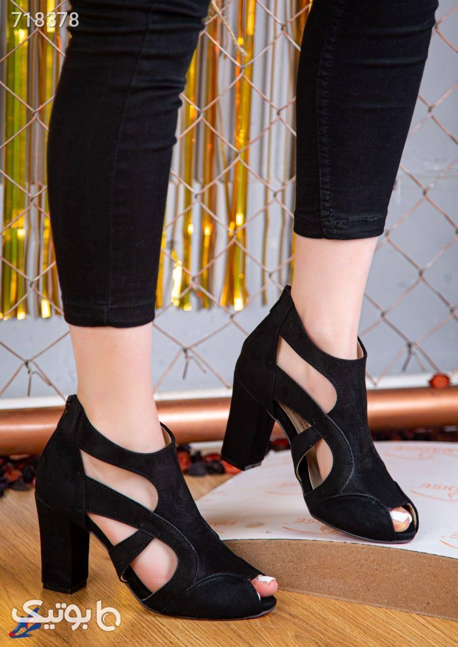 کفش پاشنه بلند زنانه زرد كفش پاشنه بلند زنانه